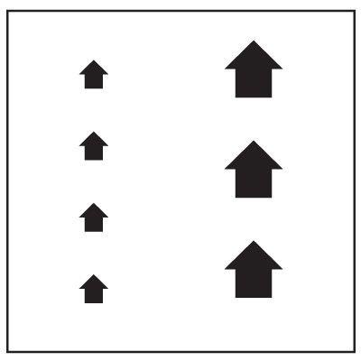 Floor Stencils - Arrows Graphic