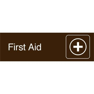 Graphic Architectural Signs - First Aid