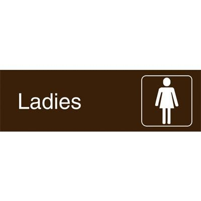 Graphic Architectural Signs - Ladies