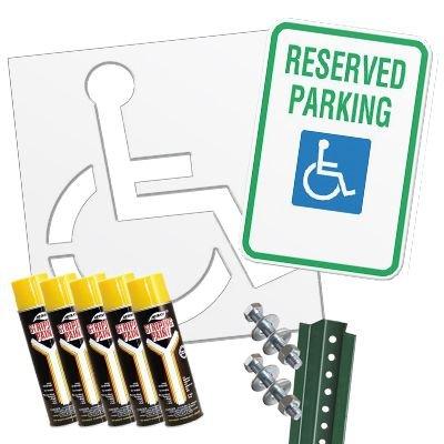 Handicap Parking Kit