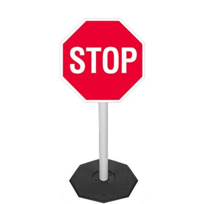 Heavy-Duty Flexible Stop Sign Systems