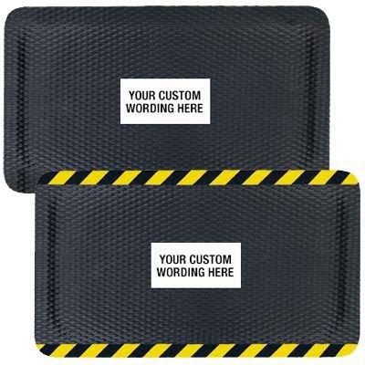 Hog Heaven™ Custom Safety Message Anti-Fatigue Mats