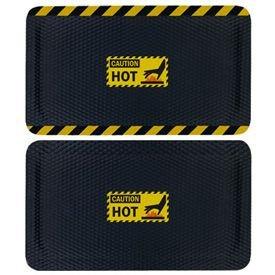 Hog Heaven Safety Message Anti-Fatigue Mats - Caution Hot