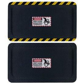 Hog Heaven Safety Message Anti-Fatigue Mats - Danger Keep Machine Clear