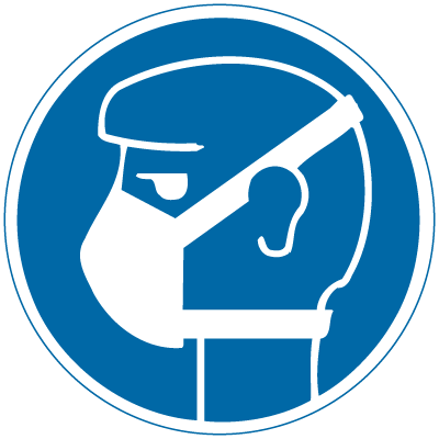 International Symbols Labels - Mask Required (Graphic)