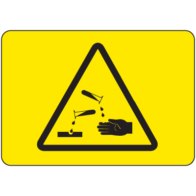 International Symbols Signs - Corrosive Materials