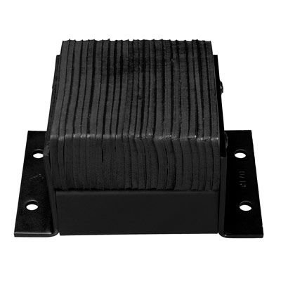 Laminated Rubber Bolted Horizontal Bumpers