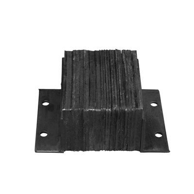 Laminated Rubber Horizontal Bumpers - 6 Projection