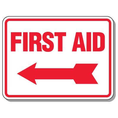 First Aid Signs - First Aid