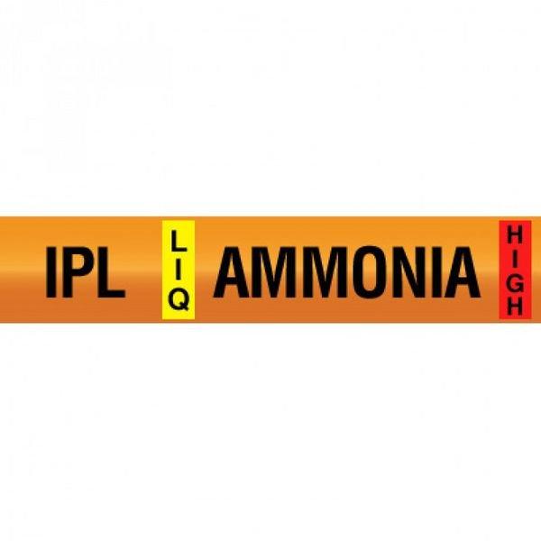Opti-Code™ Ammonia Pipe Markers - Internal Pressure Liquid