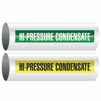Opti-Code™ Self-Adhesive Pipe Markers - Hi-Pressure Condensate