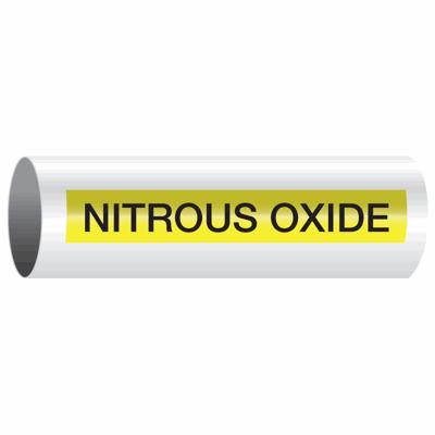Opti-Code™ Self-Adhesive Pipe Markers - Nitrous Oxide