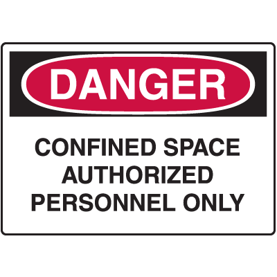 Danger Signs For Rough And Curved Surfaces