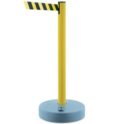 Outdoor Tensabarrier Stanchion System Posts