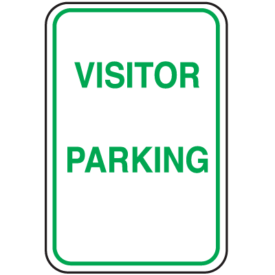 Parking Signs - Visitor Parking