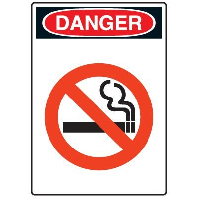 Pictogram Signs - No Smoking