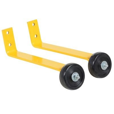Pipe Safety Railing Barricade Base With Wheels