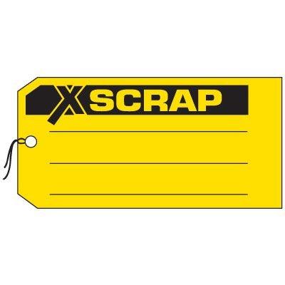 Production Control Tags - Scrap