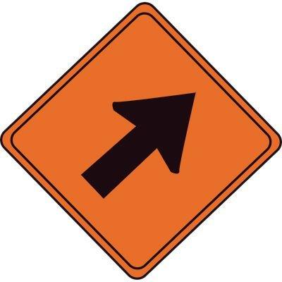 Quadra™ Flex V Sign - Lane Closure