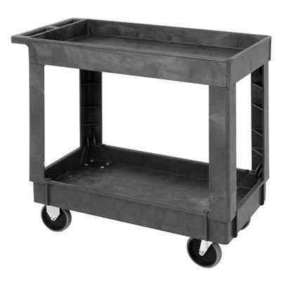Quantum® Box Top Utility Cart, 34-1/4L