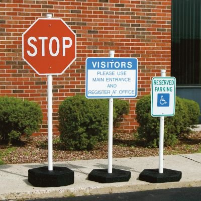 Rubber Sign Post Systems