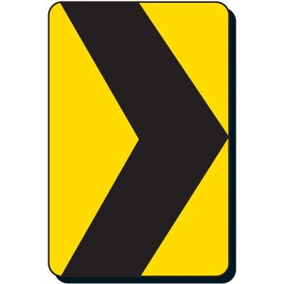 Reflective Traffic Signs - Hazard Arrow