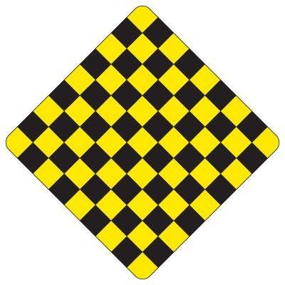 Regulatory Checkerboard Warning Signs