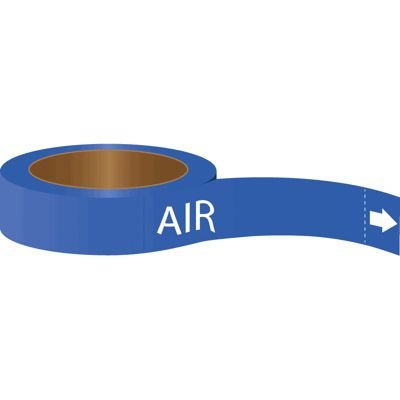 Roll Form Self-Adhesive Pipe Markers - Air