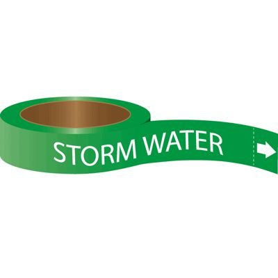 Roll Form Self-Adhesive  Pipe Markers - Storm Water