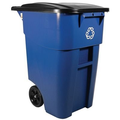 Recyclng Container - Roll-Out Style