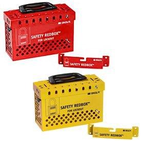 SAFETY REDBOX® Group Lockout Box