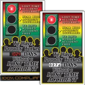 Safety Signal Scoreboards - We Have Proudly Worked