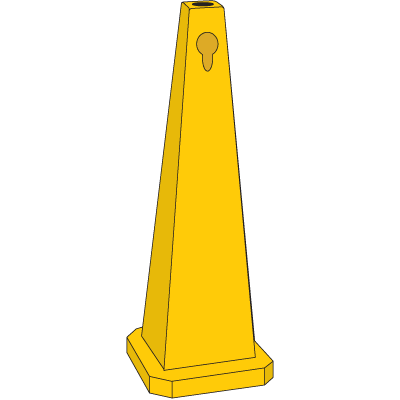 Safety Traffic Cones - Blank