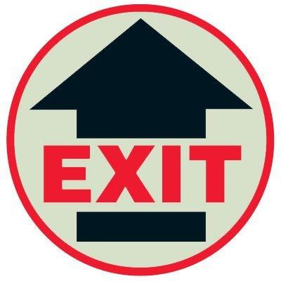 SetonGlo™ Floor Marker - Exit