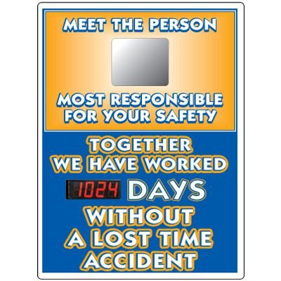 Stock Scoreboards - Meet The Person Responsible For Safety