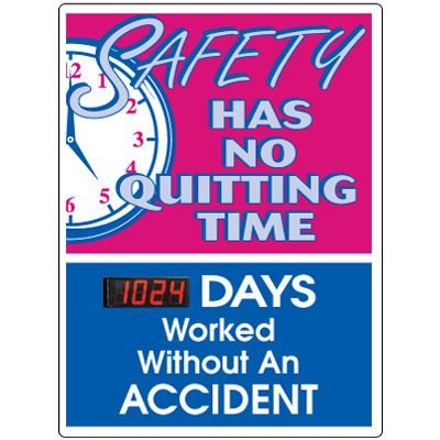 Stock Scoreboards - No Quitting No Accident