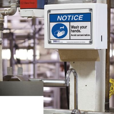 ToughWash® Encapsulated Signs - Notice Wash Your Hands