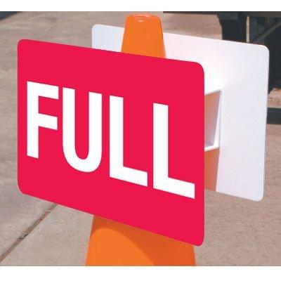 Traffic Cone Sign - Full