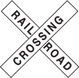 Traffic Signs - Railroad Crossing