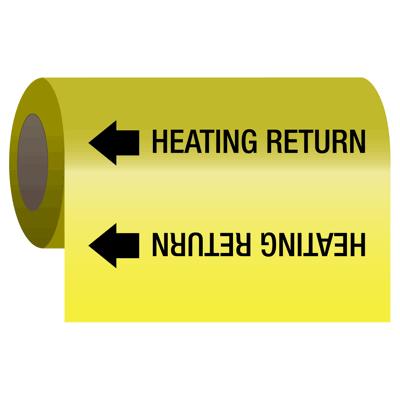 Wrap Around Adhesive Roll Markers - Heating Return