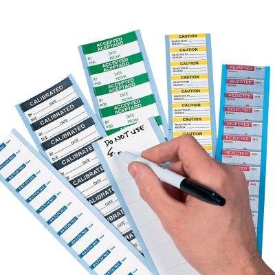 Calibration Instrument # Write On Labels