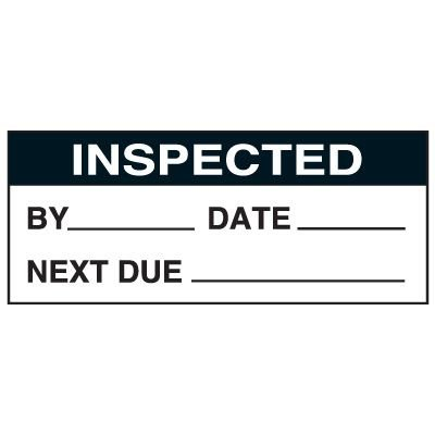 Write-On Status Roll Labels - By ___ Date ___ Next Due