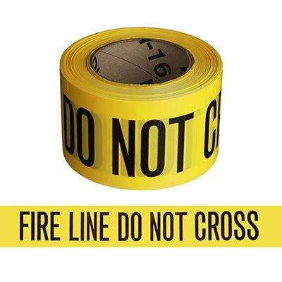 Fire Line barricade tape