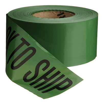Quality Control Barricade Tape - Ok To Ship