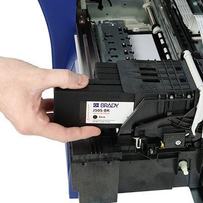Brady J50-BK BradyJet J5000 Ink Cartridge - Black
