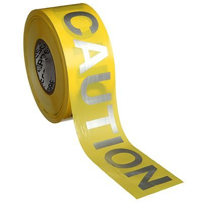 Presco Day Or Night Caution Barricade Tape