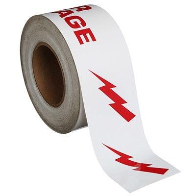 Danger High Voltage Tape