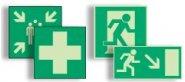 Rettungs- und Fluchtwegschilder