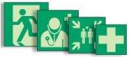 Rettungszeichen neue ASR A1.3, EN ISO 7010