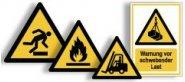 Warnschilder neue ASR A1.3, EN ISO 7010